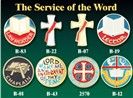 Service of the Word Pins